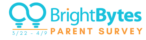 BrightBytes logo and survey dates