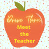 Apple that says Drive through meet the teacher