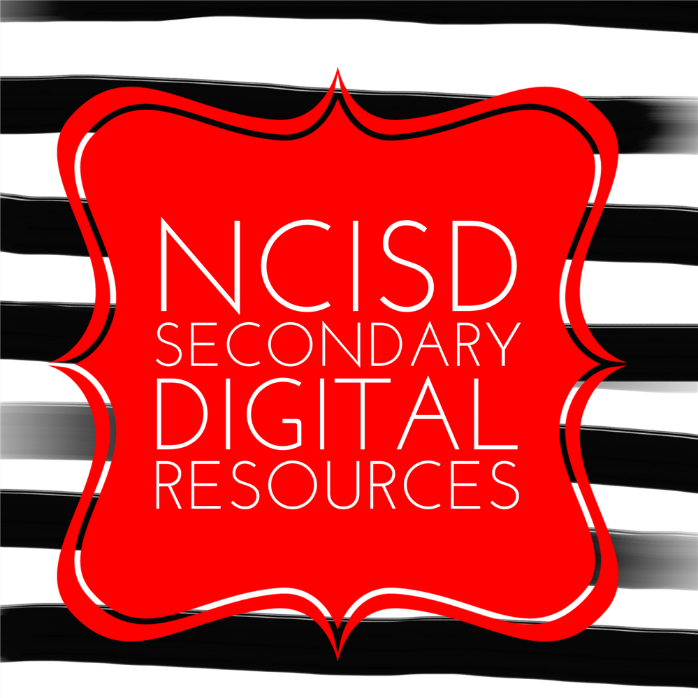 NCISD Secondary Learning Resources